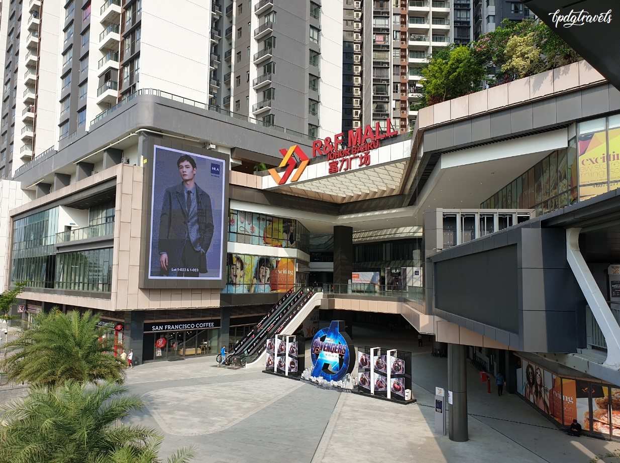How to get to R&F Mall from Johor Bahru CIQ by foot