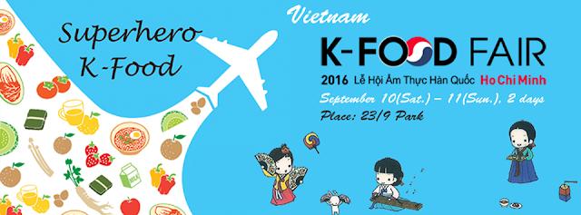 Hội chợ Ẩm thực Hàn Quốc K-Food Fair 2016
