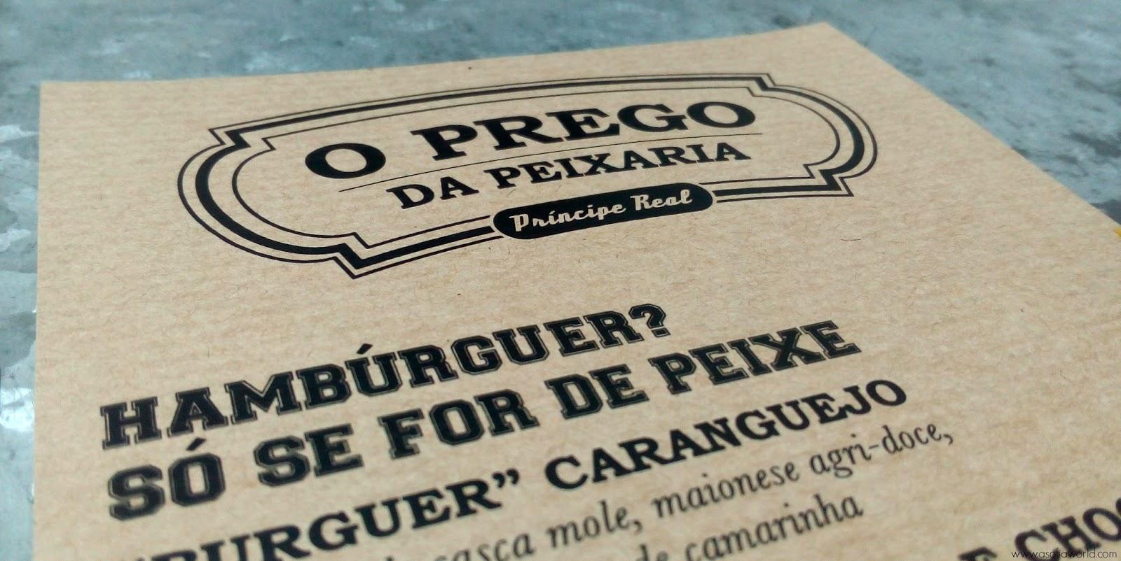 Prego da Peixaria, Lisboa
