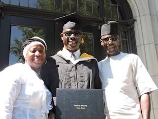 More Pictures of Graduation Ceremony of Musiliu Obanikoro in the United States