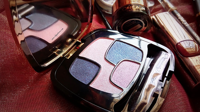 L'Oreal Paris Les Ombres Eyeshadow Precious Purple review india