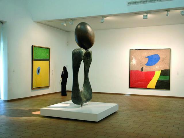 Fundació Juan Miró em Barcelona