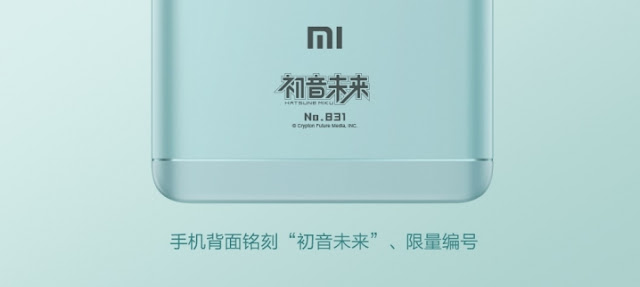 Xiaomi Redmi Note 4X chính thức ra mắt, có phiên bản đặc biệt màu xanh Hatsume Miku Limited Edition