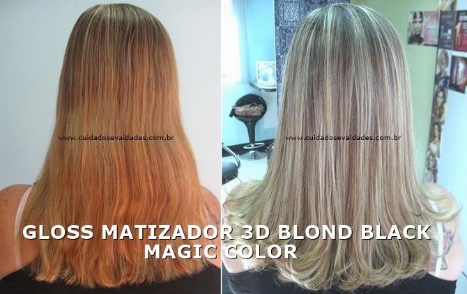 Gloss Matizador 3D Blond Black Magic Color