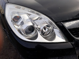 my polished headlights