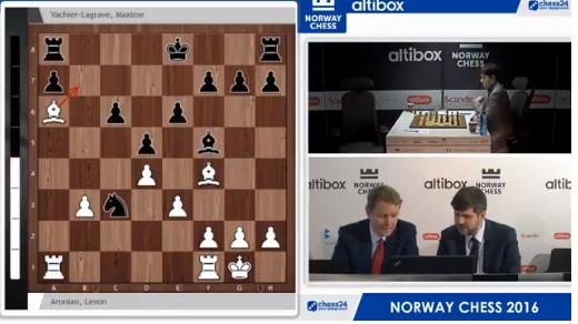Suivez les commentaires de la 5ème ronde par Jan Gustafsson et Peter Svidler du site Chess24 ce dimanche 24 avril à partir de 16h  - Photo © site officiel