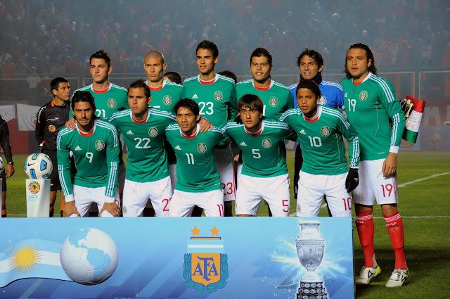 Formación de México ante Chile, Copa América 2011, 4 de julio