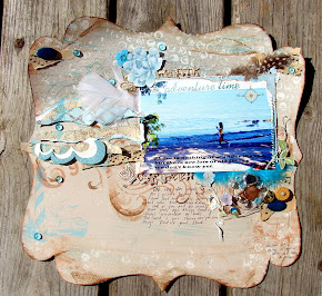 Eila's October 2011 Challenge Winner  at Scrap-It-Lah