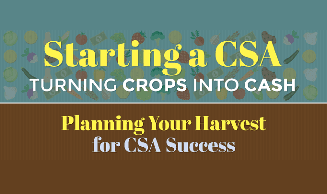 Starting a CSA Essential Information About Turning Crops Into Cash