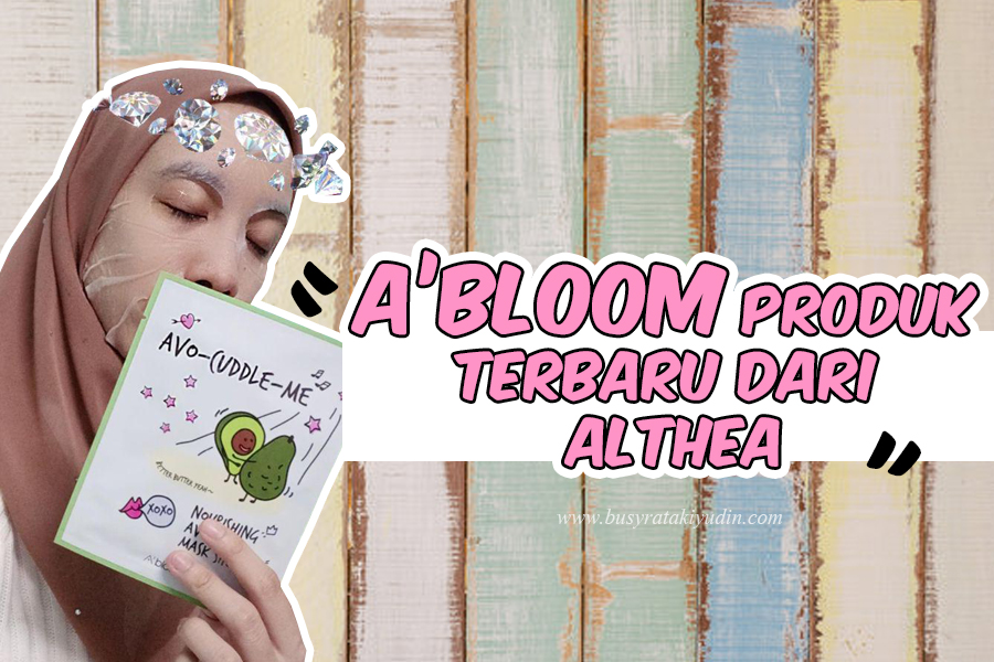 ALTHEA A'BLOOM MASK SHEET & BHA BLACKHEAD BLASTER