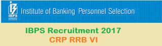 IBPS Recruitment 2017 – CRP RRB VI – Officer Scale 1 - Check Prelims Scorecard