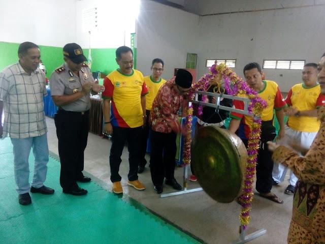 Heri Amalindo Buka Kejurda Pencak Silat Bupati PALI Cup I 2018