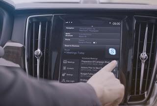 Volvo Sediakan Layanan Ngobrol Via Skype di Mobil