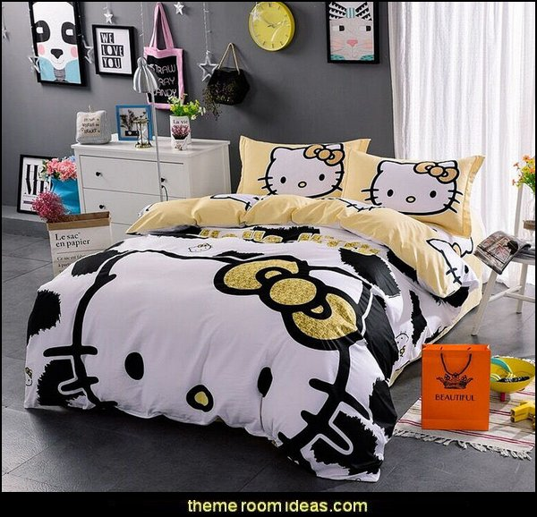 hello kitty bedding  Hello Kitty bedroom ideas - Hello Kitty bedroom decor - Hello Kitty bedroom decorating - Hello Kitty bedroom furniture - Hello Kitty Wallpaper Mural - Hello Kitty Throw Pillows - Hello Kitty bedding - Hello Kitty Rugs