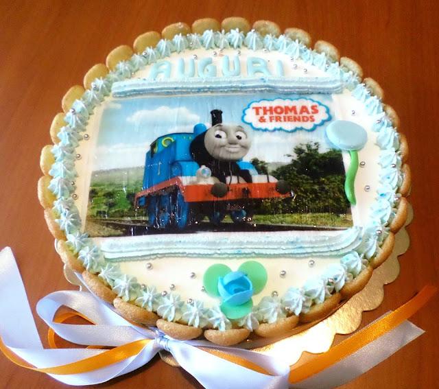 Uno Per Torta Torte Per Tutti Torta Trenino Thomas E