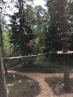 Elämyksiä köysiseikkailupuistoissa Suomessa ja ulkomailla 1