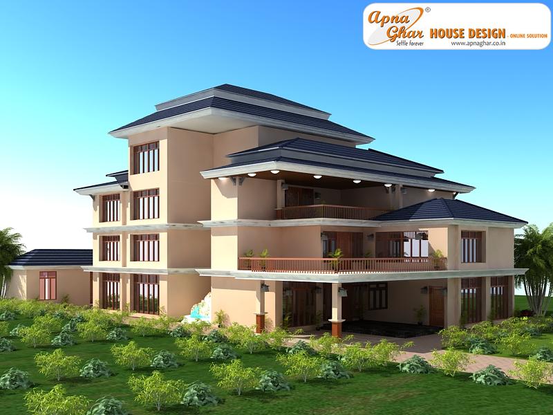 Architectural home plans triplex home floor