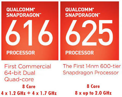 Snapdragon 616 vs Snapdragon 625