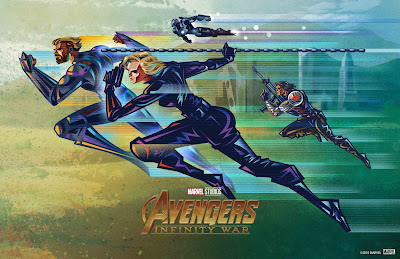 Fandango Exclusive Avengers: Infinity War Print by Kaz Oomori x Marvel