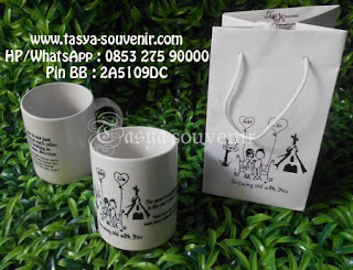 Souvenir Pernikahan Gelas Mug Murah Souvenir Gelas Mug Souvenir