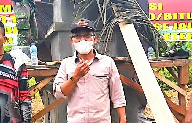 TMMD 111 tak Luput dari Jepretan Awak Media