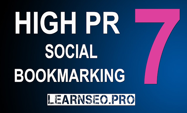 HIGHPR 7 Social Bookmarking Sites