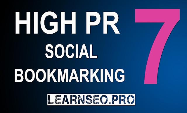 HIGHPR 7 Social Bookmarking Sites