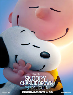 Poster Snoopy y Charlie Brown: Peanuts La Película