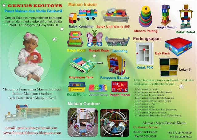 Brosur Mainan Edukatif Produksi Mainan Edukatif Anak