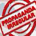 Propaganda irregular em Colégio é registrada pela PM em Guarapuava