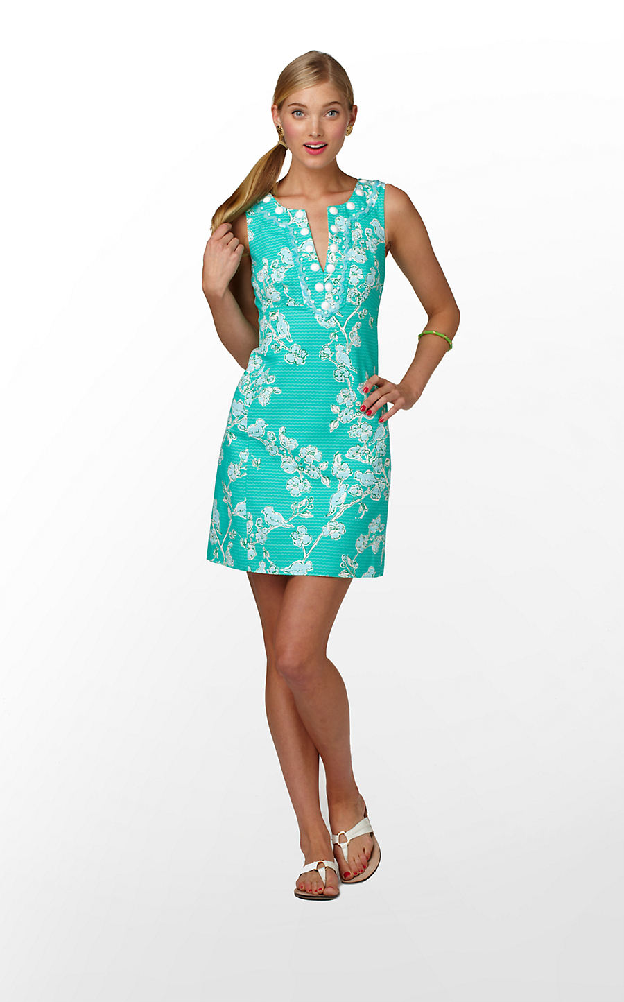 c1490802742983 While I don't wear white dresses, I'm hoping it comes out in another color  later. Perfect for a bride at a shower, sorority girls for initiation and a  great ...