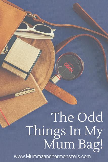 The Odd Things In My Mum Bag!