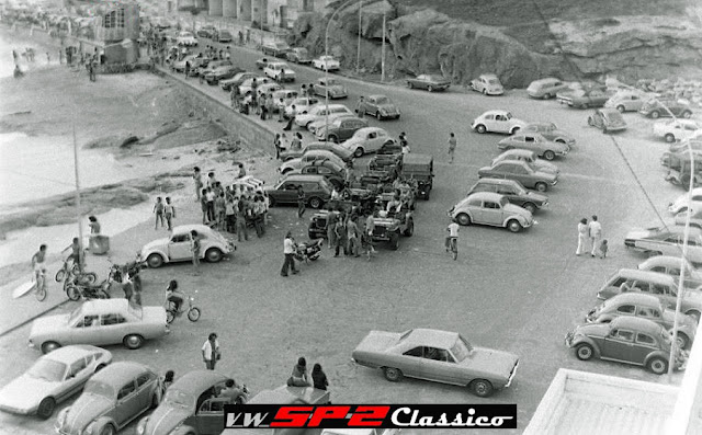 Foto antiga - Praia do Arpoador 1974