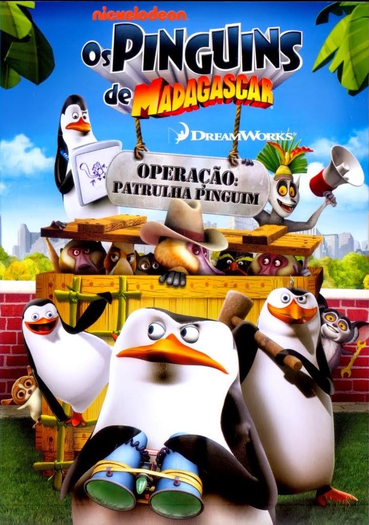 Os Pinguins de Madagascar: Operação Patrulha Pinguim – Dublado (2011)