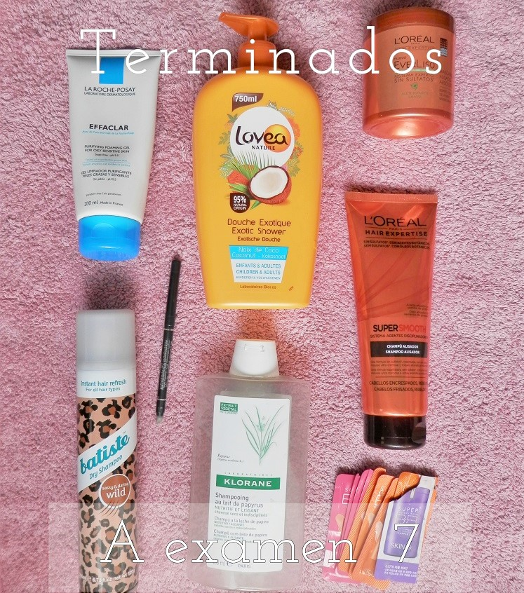 Productos terminados belleza cosmética