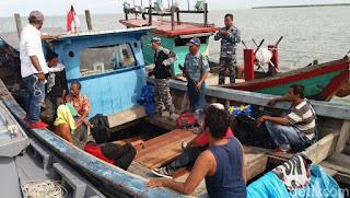 Mantap .. Prajurit TNI AL Berhasil Gagalkan Penyelundupan 20 TKI Ilegal Tujuan Malaysia di Perairan Bagan Asahan Sumut - Commando