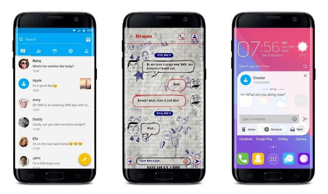 GO SMS Pro vip apk free download