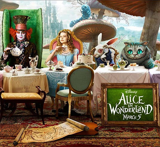 Alice In Wonderland Movie: Even Sweeter Dreams: Alice In Wonderland