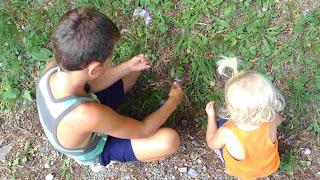 bambini attività fiori