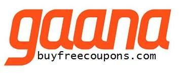 gaana app coupon codes