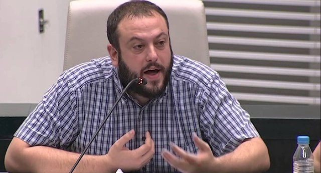 Guillermo Zapata anuncia que se da de baja de Podemos