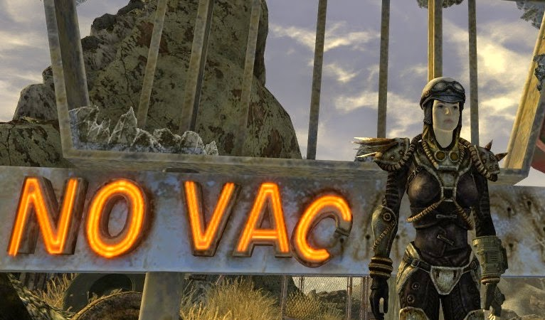 Novac sign, New Vegas