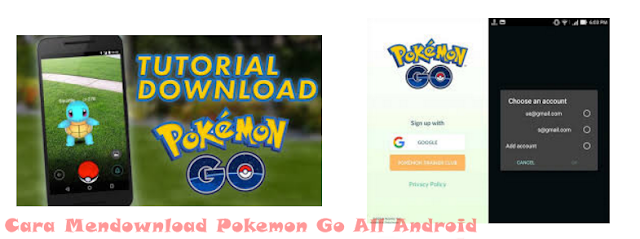Cara Mendownload Pokemon Go All Android