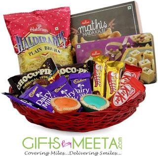 Diwali Gourmet Hamper - GiftsbyMeeta