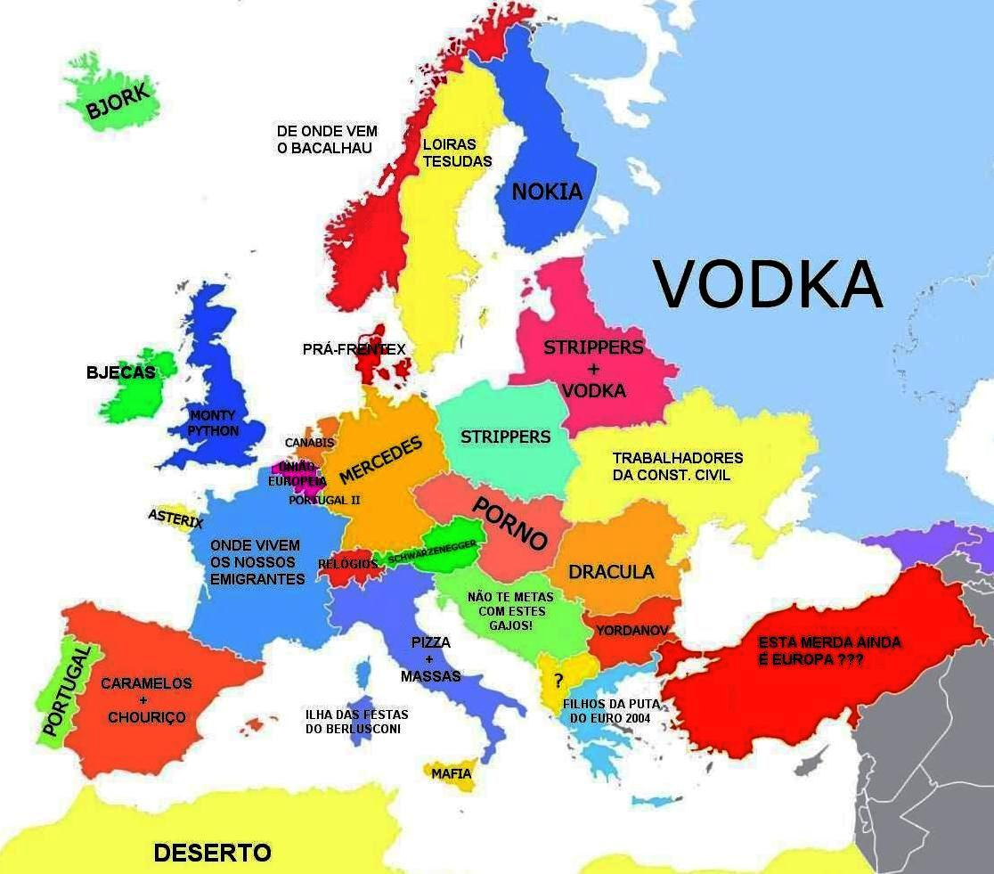 mapa europa em portugues Mapa Da Europa Completo Em Portugues   thujamassages mapa europa em portugues