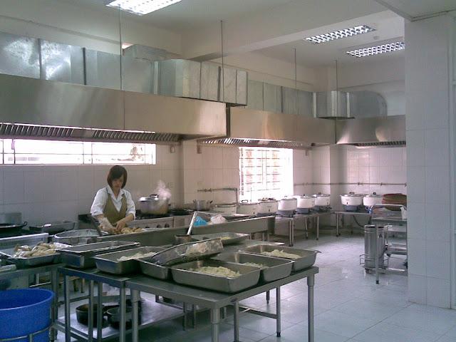 Hút mùi cho bếp ăn công nghiệp