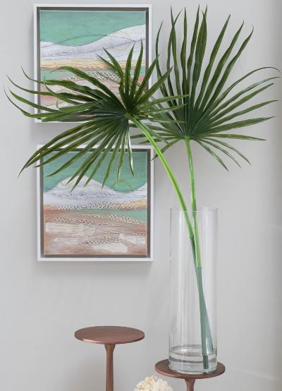 Decor Ideas with Palm Leaf Fronds Shop Faux Palm Fronds