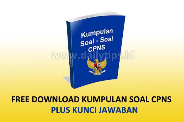 Free Download Kumpulan Soal Cpns Gratis Pdf Dan Kunci