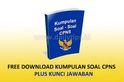 Free Download Kumpulan Soal CPNS Gratis Pdf dan Kunci Jawaban
