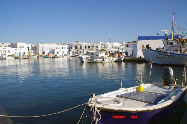 Naoussa Boats Paros